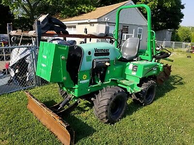 2013 Vermeer RT450 w/ Offset Chain Trencher ***NO RESERVE***