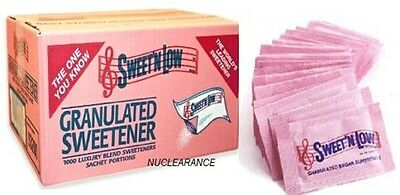Sweet N Low Granulated Sweetener Sachets Zero Calorie, Box Of 1000
