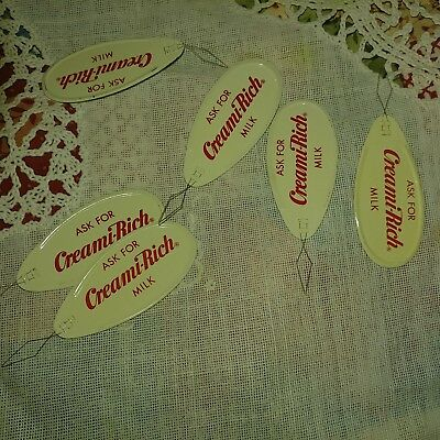 LOT VINTAGE COLLECTIBLE Creamry ADVERTISING NEEDLE THREADER