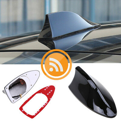 COMPATIBLE FOR SAV//NAT FM//AM SHARK FIN FUNCTIONAL WHITE ANTENNA FOR BMW 1 SERIES
