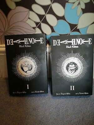 Death Note black Edition vol 1 And 2