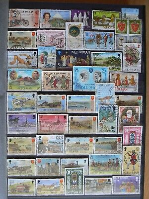 Collection Of Gb Isle Of Man Stamps