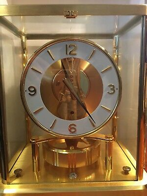 JAEGER LECOULTRE ATMOS~#540~13 Jewels~Brass~SWISS~Mantle Clock~Serial #601574