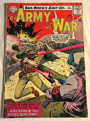 Our Army at War 145 (Aug., 1964) DC 4.0-4.5 comic book