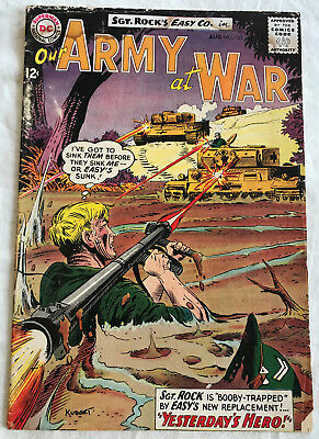 Our Army at War 133 (Aug., 1963) DC 3.5-4.0 comic book