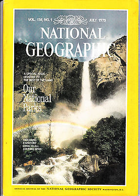 National Geographic July 1979 Our national parks (USA)