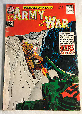 Our Army at War 120 (July, 1962) DC 4.0-4.5 comic book