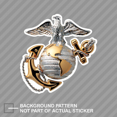 USMC EGA Sticker Decal Vinyl eagle globe anchor marines marine