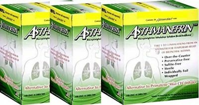 Asthmanefrin Asthma Medication Refill, 30 Count, 3 Pack -Expiration 07-2020