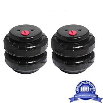 "Air Ride Suspension Air Bags Pair Standard 2500 1/2""npt Kit Replacement Partsxzx"