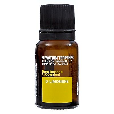 Elevation Chemicals: D-Limonene: food grade natural terpene 10ML MADE IN THE USA