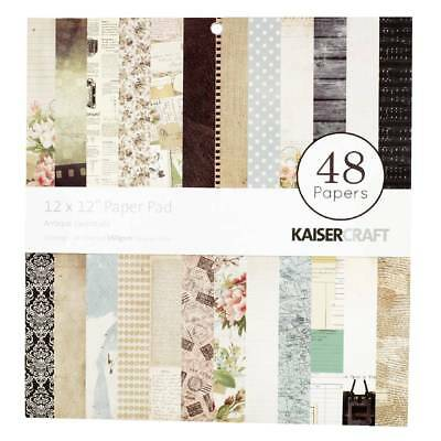 NEW Kaisercraft Antique Essentials Paper Pad By Spotlight