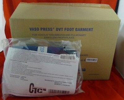 CTC VP520 Vasopress DVT Foot Garment Box of 10 Pairs NEW