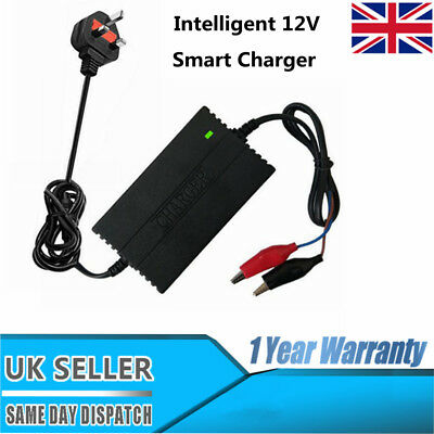 Intelligent 12V Motorcycle Motorbike Battery Charger  Automatic Smart Trickle B9