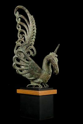 "Antique Indonesian 18th Century Majapahit Style Bird - 49.5cm/20"" Tall"