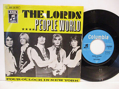 """THE LORDS 7"""" :   PEOPLE WORLD = 1969       70er"""