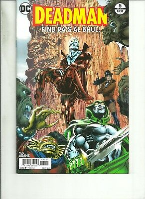 DEADMAN  #5 NEAL ADAMS DC Comics 2017 1st Print NM