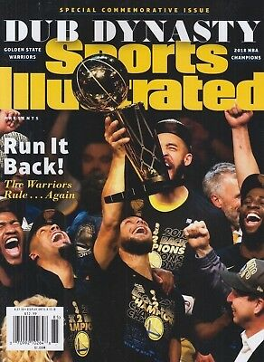 Sports Illustrated Commemorative-Golden State Warriors 2018 NBA Champions- Curry