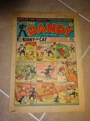 Dandy Comic Special Easter Number 487 March 24Th  Issue 1951
