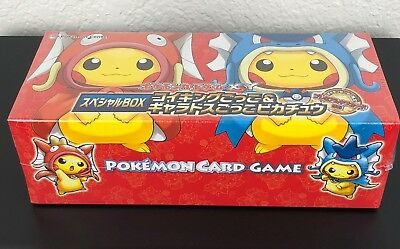 Pokemon Card Xy Magikarp Gyarados Cosplay Pikachu Special Box Sealed