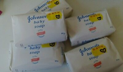 6 x Original Johnson's Baby Soap - 80g