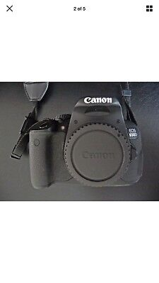 canon 650d dslr camera. Digital camera.