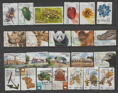 Recent Australian Stamps Used ( Lot Re 4 )