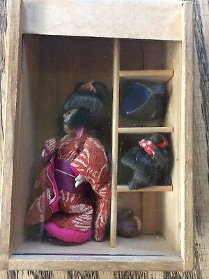 Strange Vintage Japanese Doll Owned By Little Person Princess Marguerite