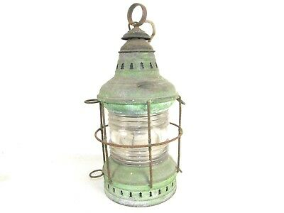 "PERKO Antique Boat Ship Mast Navigation Sea Lantern 18"" by Perkins Marine & Lamp"