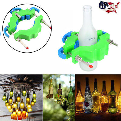 Adjustable DIY Glass Wine Beer Bottle Cutter Tool Recycle Cutting Craft Machine