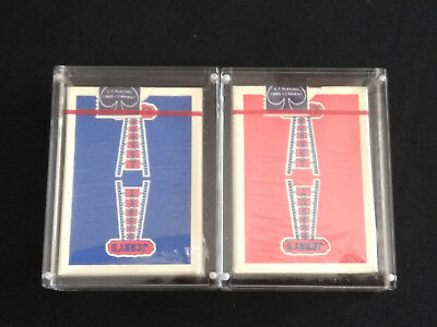 Jerry's Nugget Playing Cards 2 Decks New with Carat X1 Protective Cases...