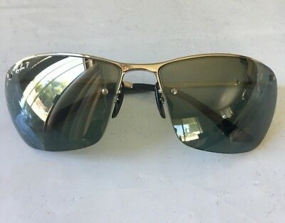 e9fd90fcd2 RAY BAN CHROMANCE Metal Frame Grey Lens Sunglasses Rb3544 -  104.99 ...