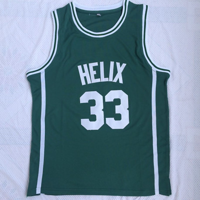 bce9ab2ee066 Bill Walton  33 Helix High School Green Embroidered Jersey Stitched S-2XL  New
