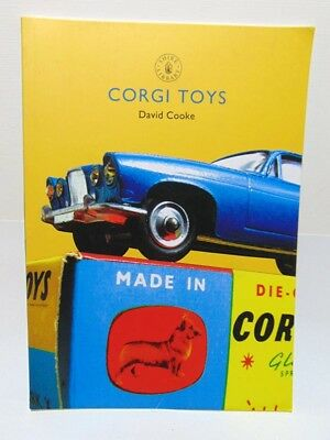 CORGI TOYS BY DAVID COOKE - PAPERBACK - HISTORY OF CORGI TOYS 1934-Today