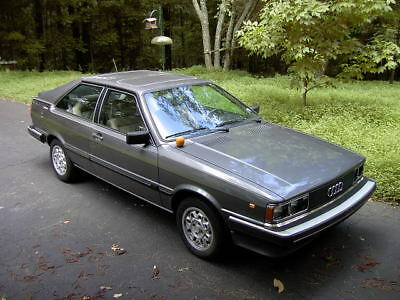 1982 Audi Coupe  1982 Audi Coupe 5 Speed Stored since 2000 - Georgia Car - Excellent Condition