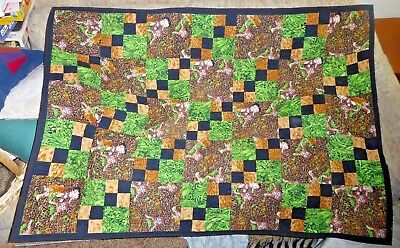 Betty Boop The Jungle Queen 2 Sided Quilted Lap Blanket
