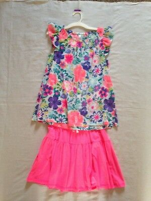 Girls Skirt And Blouse Size Xl Never Worn
