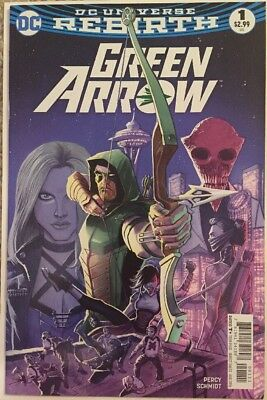 Green Arrow #1 (DC, August 2016) DC Universe Rebirth