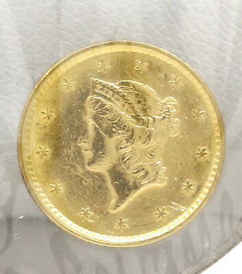 Exceptional 1852 $1 Coin! #q3