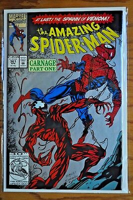 The Amazing Spider-Man, Issue #361, 2nd Printing, April, 1992.