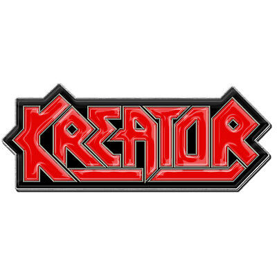 Kreator Logo Metal Pin Button Badge Official Band Merch New