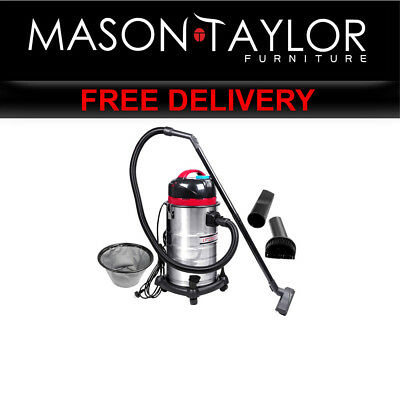 Mason Taylor 30L Wet & Dry Vacuum Cleaner and Blower Bagless Ind-Vac-30L