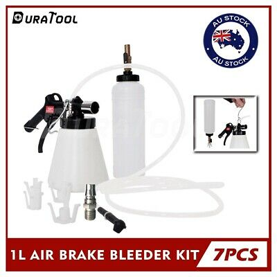 DURATOOL Air Brake Bleeder Kit Clutch Oil Vacuum Bleeding Extractor Fluid Fill