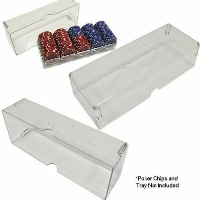 Acrylic Poker Chip Tray Cover by CHH