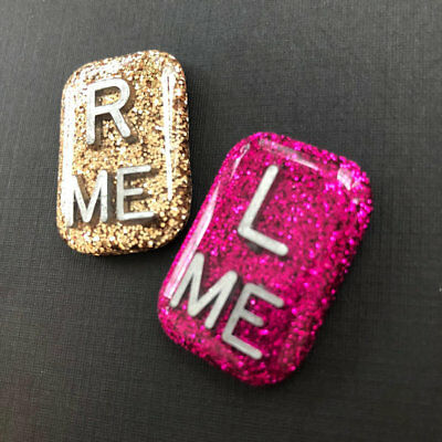 Glitter XRay Markers One Pair Your Initials