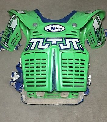 Vintage JT Racing Motocross Chest Protector Roost