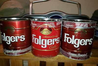 2 FOLGERS 2 LB 7 OZ. AROMA ROASTED AUTOMATIC saved from bag crafter