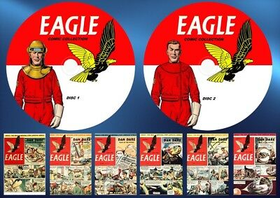 Eagle Comics Series 1 (v1 - v6) + Annuals On Two DVD Rom's