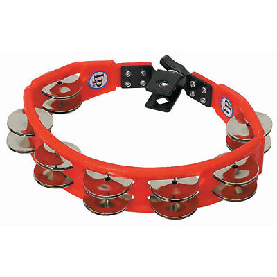 Tambourin Latin Percussion Cyclop LP161 Steel Jingles Mountable Tambourine Hand