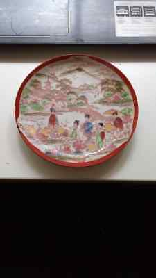 VINTAGE JAPANESE HAND PAINTED PLATES PORCELAIN - Sold by Yumanlok